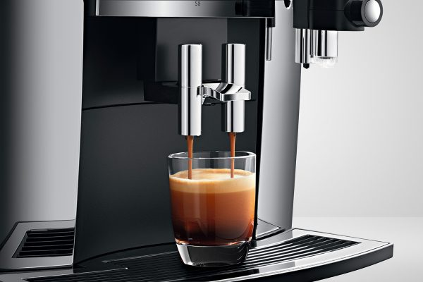 Jura S8 Chrome Bean to Cup Home Coffee Machine 8