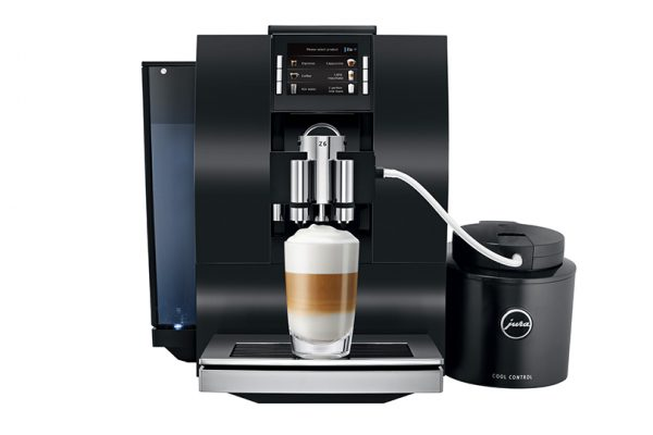 Jura Z6 Home Bean To Cup Coffee Machine Black 6