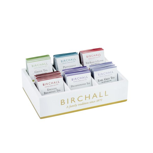 Birchall 6 Compartment Tray For Enveloped Tea Bags