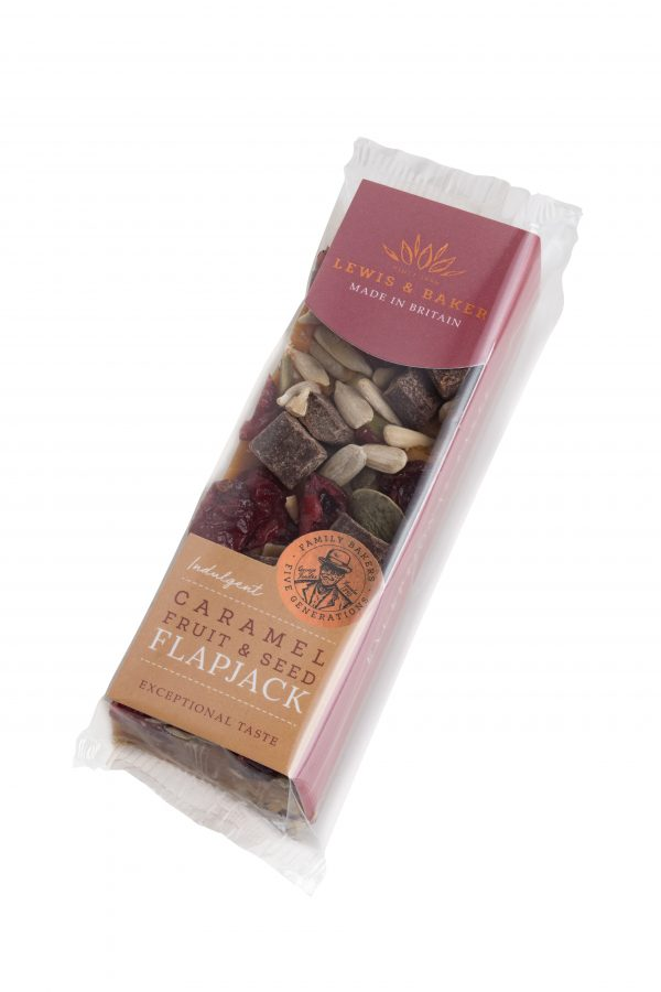 Caramel Fruit & Seed Flapjack with Belgian Chocolate 67g x 16 Units