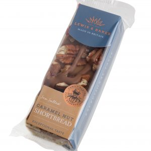 Sea Salt Caramel Nut Shortbread 65g x 16 Units 1