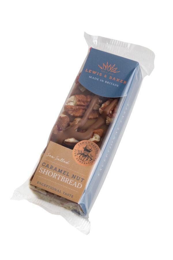 Sea Salt Caramel Nut Shortbread 65g x 16 Units 1