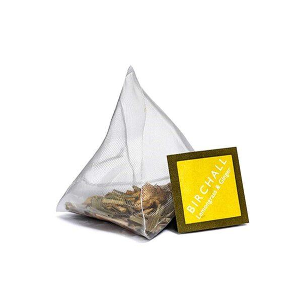 Birchall Lemongrass & Ginger Tea - 15 x Prism Tea Bags