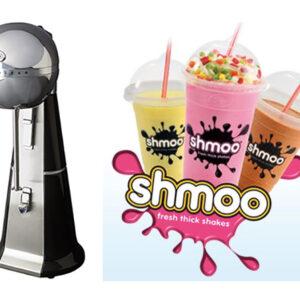 Shmoo Milkshake Black Mixer + Complete Starter Kit