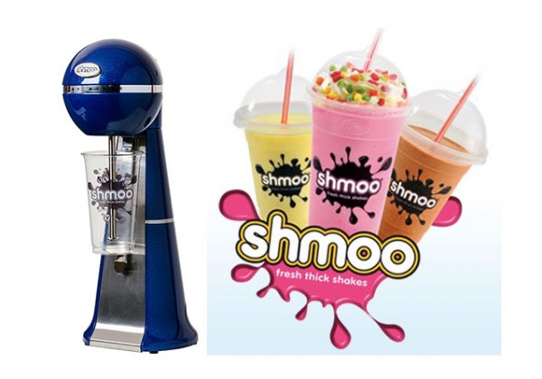 Shmoo Milkshake Blue Mixer + Complete Starter Kit 10