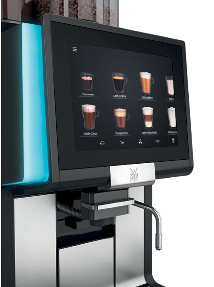 WMF 1500 S+ Commercial Bean to Cup Coffee Machine 2