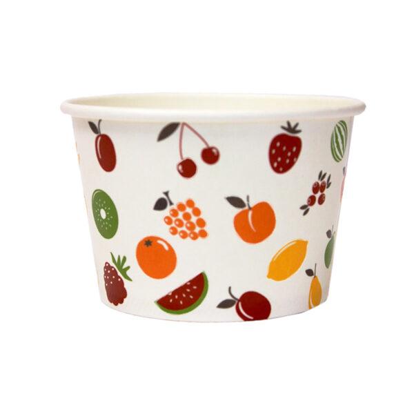 8oz Ice Cream Wax Cup
