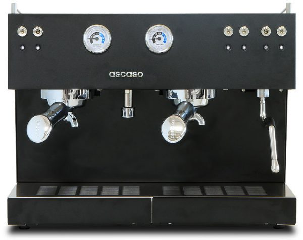 Steel Trio Espresso Coffee Machine