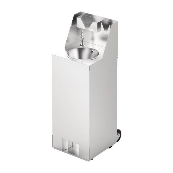 Mobile Handwash Station With Splashback 1