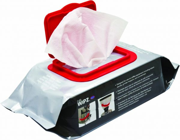 Café Wipz Equipment Cleaning Wipes 1