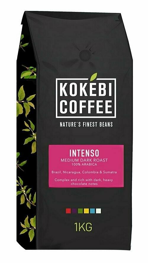 Kokebi Intenso 100% Arabica Coffee Beans 1KG 1