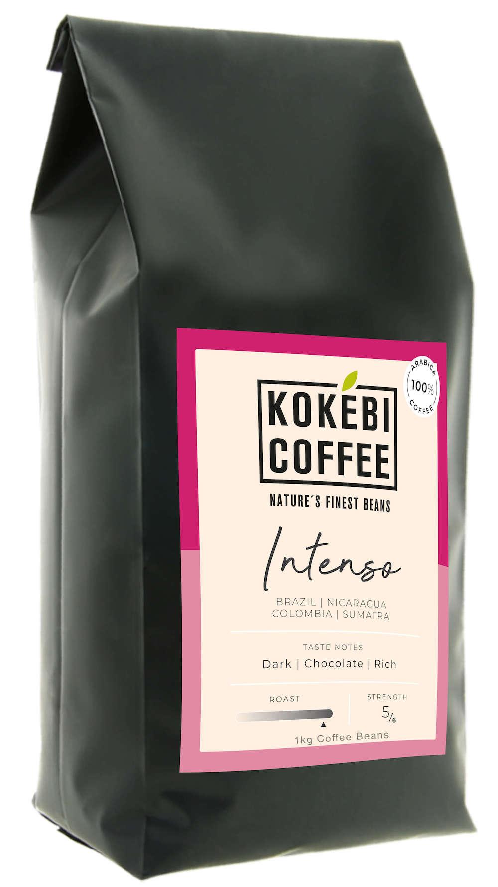 Kokebi Intenso 100% Arabica Coffee Beans 1KG 2