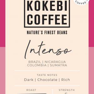 Kokebi Intenso 100% Arabica Coffee Beans 1KG