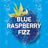 Blue Raspberry Fizzy Slush Syrup 10L