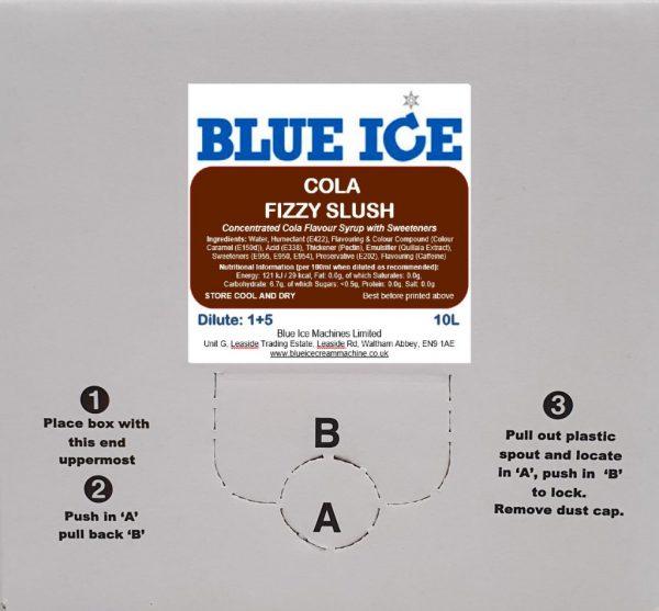 Cola Fizzy Slush Syrup 10L