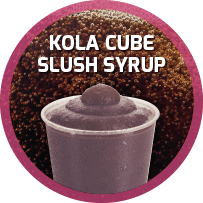 Kola Flavoured Slush Syrup 5L