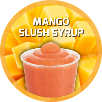Mango Flavoured Slush Syrup 5L