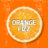 Orange Fanta Fizzy Slush Syrup 5L