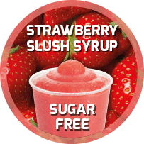 Sugar Free Strawberry Flavoured Slush Syrup 5L