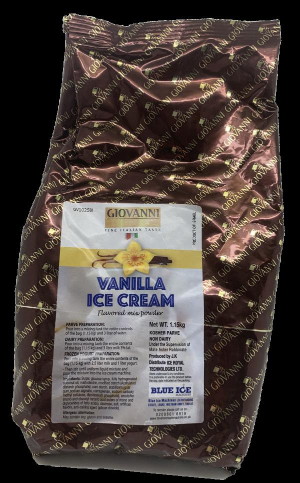 Vanilla Ice Cream Powder 1 Kg x 6 Pack