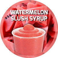 Water Melon Flavoured Slush Syrup 5L
