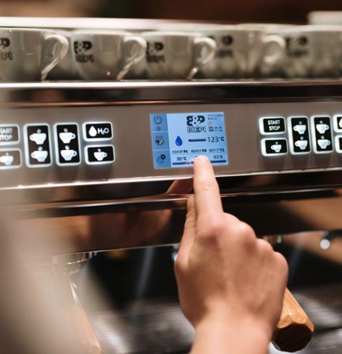 MC-1 Barista PRO Commercial Espresso Coffee Machine 3