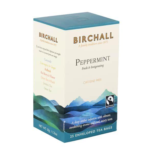 Birchall Peppermint - 25 x Envelope Tea Bags