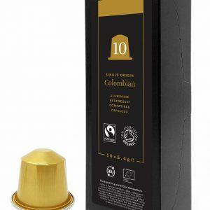 Kokebi Coffee Columbian Coffee Capsules X 10