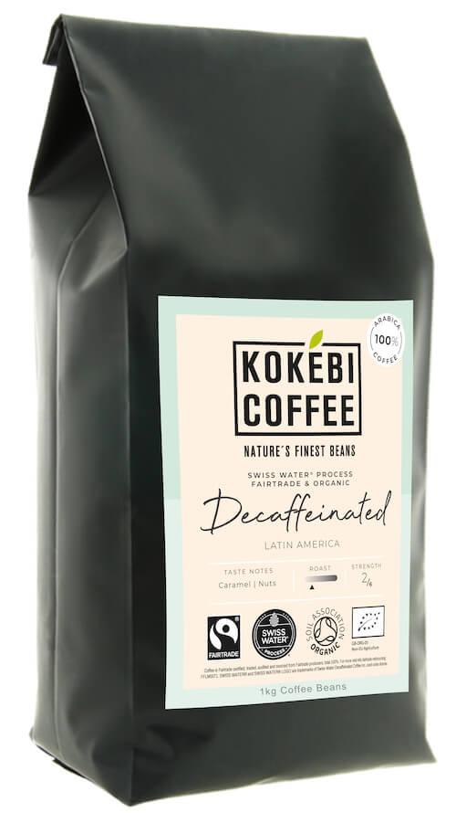 Kokebi Coffee Decaffeinated Coffee Beans 1KG 2