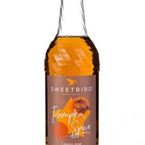Sweetbird Pumpkin Spice Syrup 1 Litre
